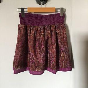 UO Kimchi Blue Purple Skirt